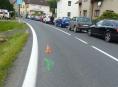 Řidiči ujeli na Jesenicku od dvou dopravních nehod