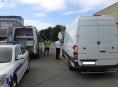 Přetížená vozidla na silnicích Olomouckého kraje