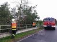 Po silných bouřkách vyjeli hasiči v kraji téměř třicetkrát