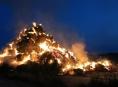 Nedbalost či úmysl je příčinou zapálení stohu mezi Mohelnicí a Libivou
