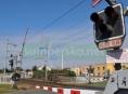 Nový systém kamer bude umístěn na vybraných železničních přejezdech