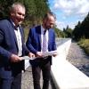 Další ze silnic na severu regionu je díky krajským penězům bezpečnější    zdroj foto: OLK