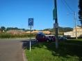 Parkoviště u šumperského hřbitova je pouze pro vozidla do 3,5 tuny