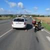 Opilý řidič skútru havaroval v Mohelnici
