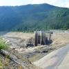 Dolní nádrž byla poprvé v historii elektrárny vypuštěná    zdroj foto: V. Sobol