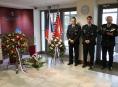 Policisté a veřejnost uctili památku zesnulých policistů Olomouckého kraje