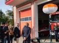 Litovelským hasičům posvítí na zásahy v noci osvětlovací balón