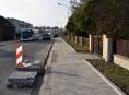 Další chodníky v Zábřeze dostaly nový povrch