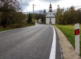 Další dvě cesty prošly v Olomouckém kraji rekonstrukci