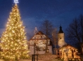 Energetická společnost pomůže v Olomouckém kraji rozsvítit 23 stromečků