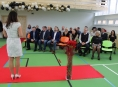 """Střední odborná škola """"Zemědělka"""" otevřela zrekonstruovanou tělocvičnu"""