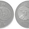 Stříbrná mince k 500. výročí jáchymovských tolarů   zdroj foto: ČNB