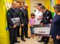 Policejní družstvo ZONA opět podpořilo dětskou hemotoonkologii