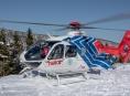 Třináctiletý jezdec na snowboardu nezvládl jízdu na sjezdové trati ve skiareálu na Ovčárně