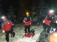 Tři týmy Horské služby hledaly skialpinistu