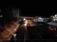 VIDEO! Dělníci odstranili přes noc dva mosty u Humpolce