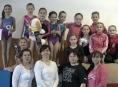 Šumperské gymnastky zahájily novou sezónu v Ostravě