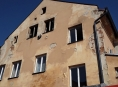 Hasiči likvidovali požár bytu v Jeseníku