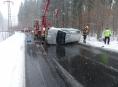 Nepozornost řidičů na Šumpersku