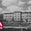 3.Původní infekční pavilon šumperské nemocnice na snímku z 50. let 20. století    zdroj foto: VMŠ