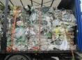 Celnici v kraji zabránili nelegální přepravě 70 tun odpadů