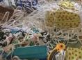 Textilní šité roušky v Šumperku docházejí