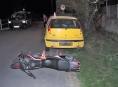 Víkendové dopravní nehody na Šumpersku