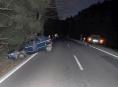 Opilý motorista havaroval za Brannou