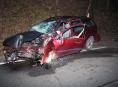 Řidič na Zábřežsku čelně narazil do stromu