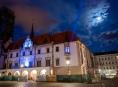 Olomoucké památky svítily modře