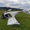 V Šumperku na letišti havaroval při přistávání Supralight