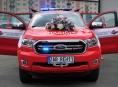 Zábřežská jednotka dobrovolných hasičů dostala nový velitelský automobil