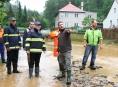 """Hejtmanství sděluje: """"Zaplavené obce v tom nenecháme!"""""""