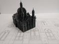 Vrcholí příprava bronzového modelu bývalé synagogy v Olomouci
