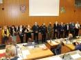 Tucet medailí těm, kteří se v kraji zasloužili o potlačení epidemie