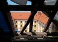 FOTO. Rozsáhlá rekonstrukce střechy olomouckého muzea pokračuje