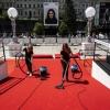 červený koberec  zdroj foto: Karlovy Vary International Film Festival (KVIFF)