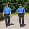 obchůzková činnost strážníků v Sadech 1. máje    foto: mus - MPŠ