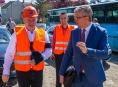 Hejtman s ministrem řešili strategické stavby v Olomouckém kraji