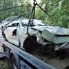 havárie vozidla na Červenohorském sedle     zdroj foto: PČR