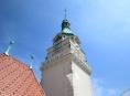 Večerní rozhledy z šumperské radniční věže lákaly