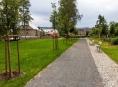 Léčebný ústav v kraji má nový park