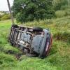 Řidička podcenila rychlost a mokrou vozovku