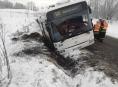 Na Jesenicku havaroval linkový autobus