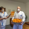 Mandarinkovou tipovačku v porodnici FN Olomouc poprvé vyhrál přednosta kliniky    zdroj foto: FNOL