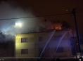 VIDEO. Tragický požár bytového domu v Moravském Berouně