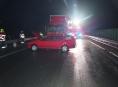 Namrzlé vozovky opět komplikovaly silniční provoz na Šumpersku