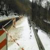 Sesuv půdy u Hanušovic začal kraj řešit okamžitě    zdroj foto:OLK