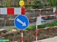 Obnova vodohospodářských sítí v Šumperku letos pokračuje