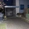poškozená budova zdravotnického zařízení         zdroj foto: PČR